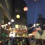 平成30年夏;日テレ盆踊り 「盆踊り」の広場の為に、60M→150Mのビルへ?